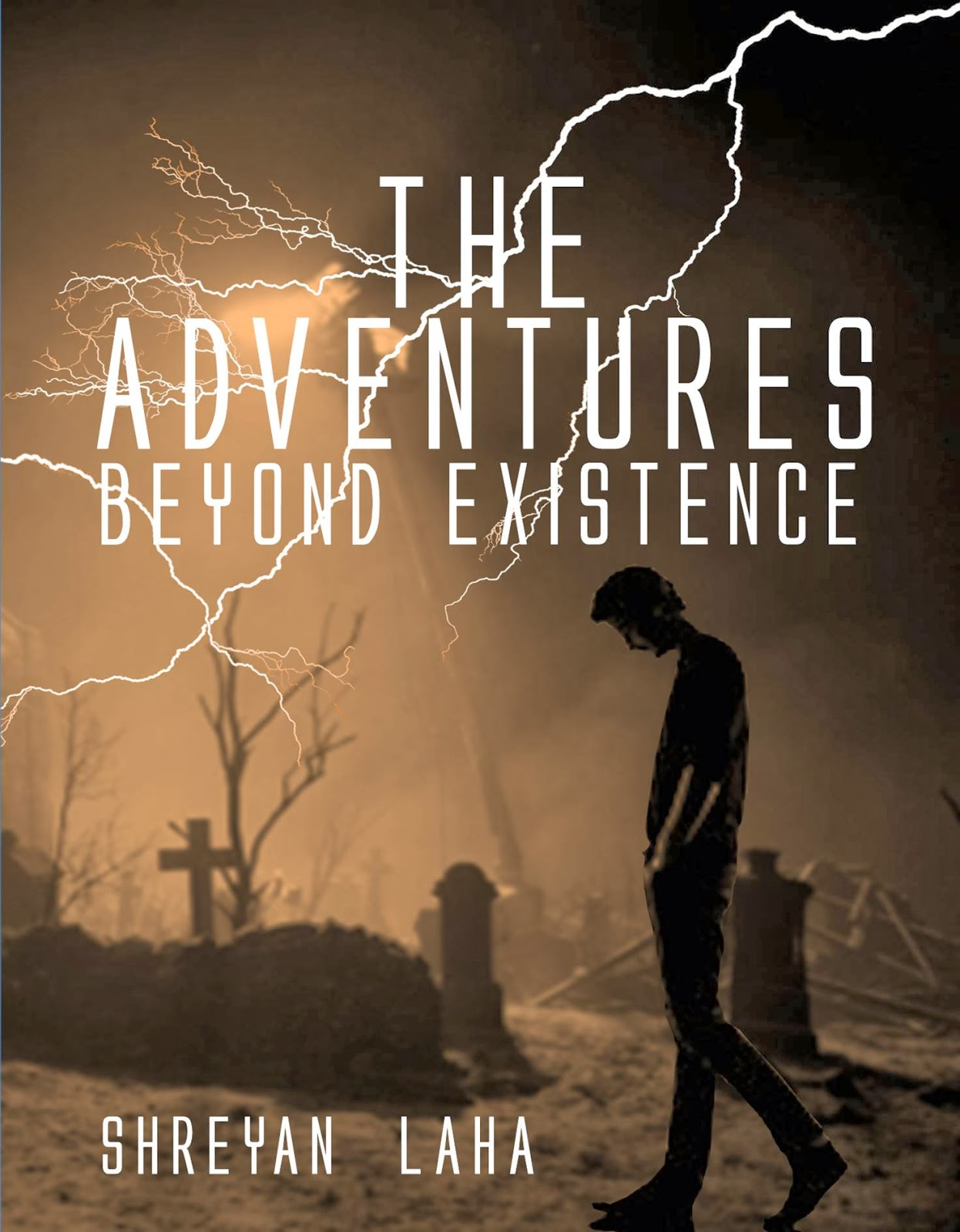 front cover the adventures beyond existence