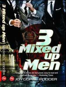 Cover of 3 Mixed up Men by jogopal Podder