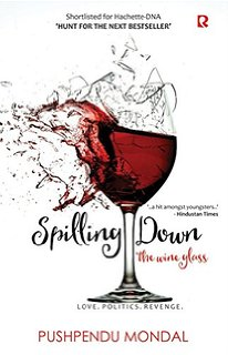 Cover of Spilling Down The Wine Glass