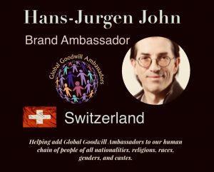Brand Ambassador Hans-Jürgen John